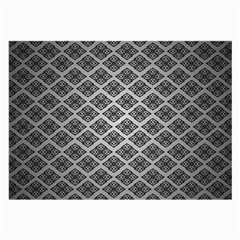 Silver The Background Large Glasses Cloth (2-Side)