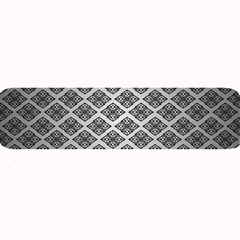 Silver The Background Large Bar Mats