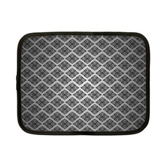 Silver The Background Netbook Case (small)