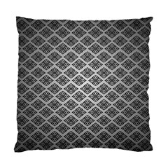 Silver The Background Standard Cushion Case (two Sides)