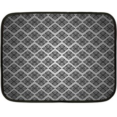 Silver The Background Fleece Blanket (mini)