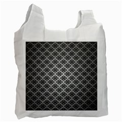 Silver The Background Recycle Bag (two Side)