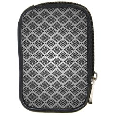 Silver The Background Compact Camera Cases