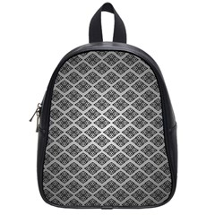 Silver The Background School Bags (Small)