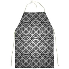 Silver The Background Full Print Aprons