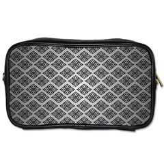 Silver The Background Toiletries Bags