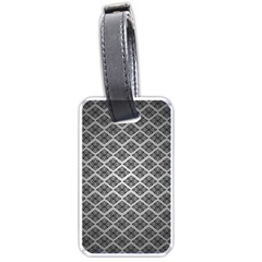 Silver The Background Luggage Tags (two Sides)