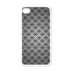 Silver The Background Apple Iphone 4 Case (white)