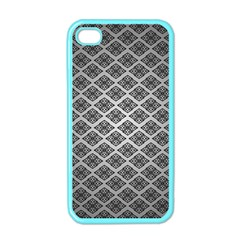 Silver The Background Apple Iphone 4 Case (color)