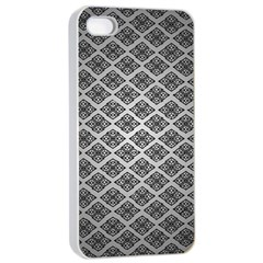 Silver The Background Apple Iphone 4/4s Seamless Case (white)