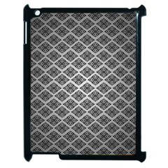 Silver The Background Apple Ipad 2 Case (black)