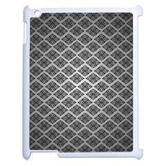 Silver The Background Apple Ipad 2 Case (white)