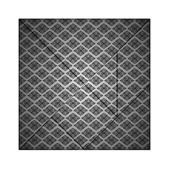 Silver The Background Acrylic Tangram Puzzle (6  X 6 )