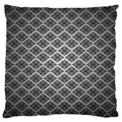 Silver The Background Large Cushion Case (two Sides)