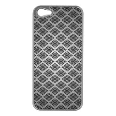 Silver The Background Apple Iphone 5 Case (silver)