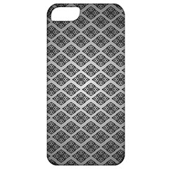 Silver The Background Apple Iphone 5 Classic Hardshell Case