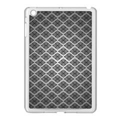 Silver The Background Apple Ipad Mini Case (white)