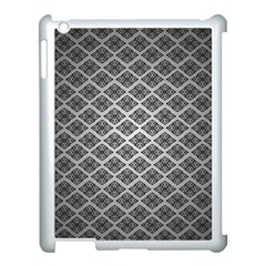Silver The Background Apple Ipad 3/4 Case (white)