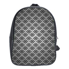 Silver The Background School Bags (xl)