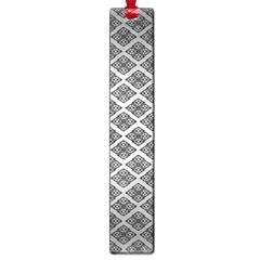 Silver The Background Large Book Marks