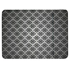Silver The Background Samsung Galaxy Tab 7  P1000 Flip Case