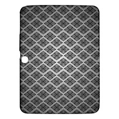 Silver The Background Samsung Galaxy Tab 3 (10 1 ) P5200 Hardshell Case