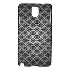 Silver The Background Samsung Galaxy Note 3 N9005 Hardshell Case