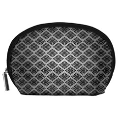 Silver The Background Accessory Pouches (large)