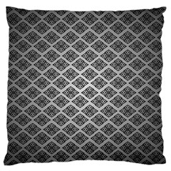 Silver The Background Standard Flano Cushion Case (one Side)