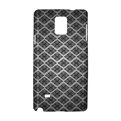 Silver The Background Samsung Galaxy Note 4 Hardshell Case