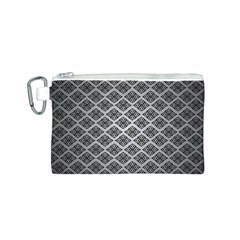 Silver The Background Canvas Cosmetic Bag (s)