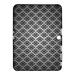 Silver The Background Samsung Galaxy Tab 4 (10 1 ) Hardshell Case