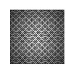 Silver The Background Small Satin Scarf (square)