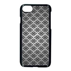 Silver The Background Apple Iphone 7 Seamless Case (black)
