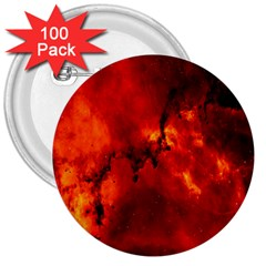 Star Clusters Rosette Nebula Star 3  Buttons (100 Pack)