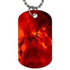 Star Clusters Rosette Nebula Star Dog Tag (two Sides)