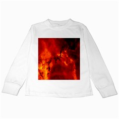 Star Clusters Rosette Nebula Star Kids Long Sleeve T-Shirts