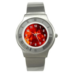 Star Clusters Rosette Nebula Star Stainless Steel Watch