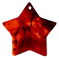 Star Clusters Rosette Nebula Star Star Ornament (two Sides)