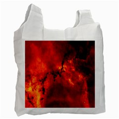 Star Clusters Rosette Nebula Star Recycle Bag (two Side)