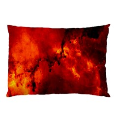 Star Clusters Rosette Nebula Star Pillow Case (two Sides)