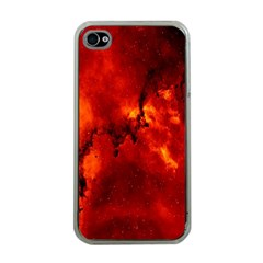 Star Clusters Rosette Nebula Star Apple Iphone 4 Case (clear)