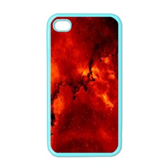 Star Clusters Rosette Nebula Star Apple Iphone 4 Case (color)