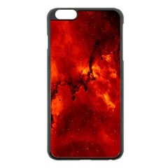 Star Clusters Rosette Nebula Star Apple Iphone 6 Plus/6s Plus Black Enamel Case