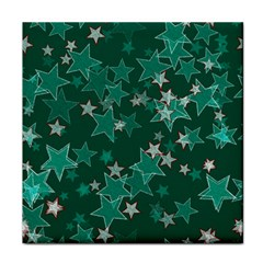 Star Seamless Tile Background Abstract Tile Coasters