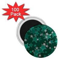 Star Seamless Tile Background Abstract 1 75  Magnets (100 Pack)
