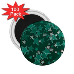 Star Seamless Tile Background Abstract 2 25  Magnets (100 Pack)