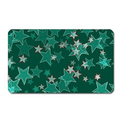 Star Seamless Tile Background Abstract Magnet (rectangular)