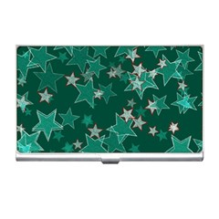 Star Seamless Tile Background Abstract Business Card Holders