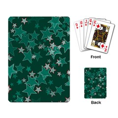 Star Seamless Tile Background Abstract Playing Card